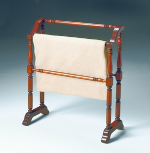 """Plantation Cherry Blanket Rack 28""""W by Butler Specialty"""