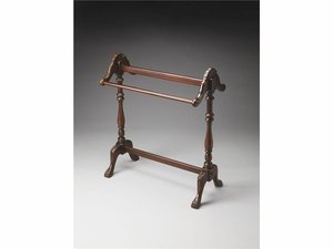 """Plantation Cherry Blanket Stand 36.25""""H by Butler Specialty"""