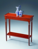 "Plantation Cherry Console Table 29""W by Butler Specialty"