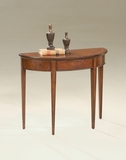 "Plantation Cherry Demilune Console Table 36""W by Butler Specialty"