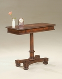 "Plantation Cherry Pedestal Console Table 36""W by Butler Specialty"