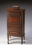 "Plantation Cherry Secretary 26""W by Butler Specialty"