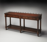 "Plantation Cherry Sofa/Console Table 60""W by Butler Specialty"