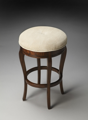 "Plantation Cherry Stool 17""W by Butler Specialty"