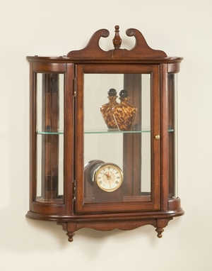 "Plantation Cherry Wall Curio 21""W by Butler Specialty"