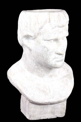 Pleasant Classy Carved Terracotta Man Bust