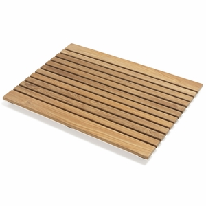 Pleasant Teak Floor Mat RE by Infinita