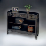 "Plum Black Bookcase 42""W by Butler Specialty"