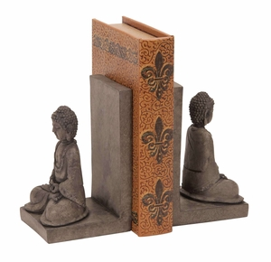 Polystone Buddha Bookend A Cool Library Accent Brand Woodland