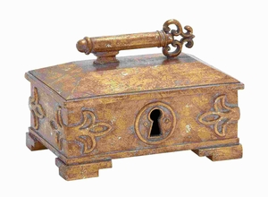 Polystone Decorative Box with a Glossy Touch and Sturdy Design Brand Woodland