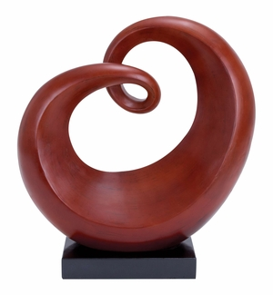 Polystone Sculpture Absurd Shape Highlights The Prominent Spots Brand Woodland