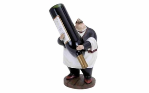 Polystone Wine Holder - Fat Chef Polystone Waiter Brand Woodland