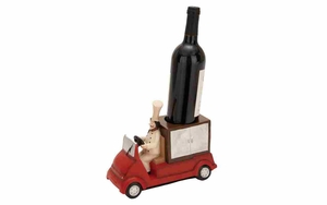 Polystone Wine Holder - French Chef Polystone Truck Brand Woodland