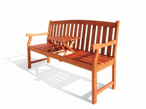 Pop Up Table Marley Bench by Vifah