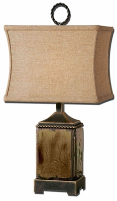 Porano Buffet Lamp with Dark Bronze Finish Brand Uttermost
