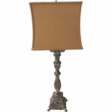 Portable Lamp Series Beautiful Styled 1 Light Portable Lamp Collections in Antique Finish by Yosemite Home Decor