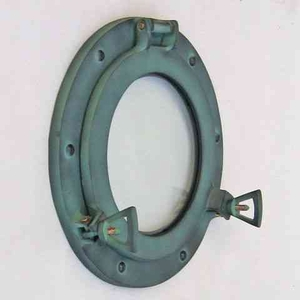 Porthole Glass Green An Elegant Variant Of Nautical Wall Decor Brand IOTC