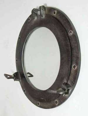 Porthole Mirror Antique To Magnify The Look Of Spaces With Marine Feel Brand IOTC