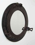 Porthole Mirror Sleek And Rustic Variant More Than Just The Wall Decor Brand IOTC