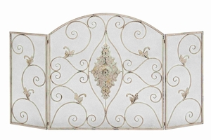 Portugal Royal Safety Fireplace Screen Brand Benzara