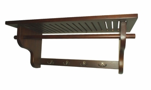 Potsdam Wall Hanger Shelf, Outstandingly Sturdy Constructive Home Decor by D-Art