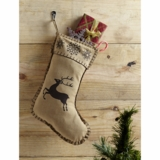 Prancer Stocking 11x15