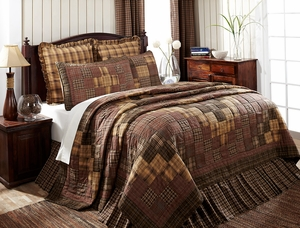 "Prescott Luxury Sham Quilted 21"" x 37"" by VHC Brands"