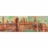 Prestigious Styled New York View Adorable Painting by Yosemite Home Decor