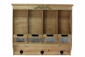 Pretty Designed Wooden Urban Cabinet by Urban Trends Collection