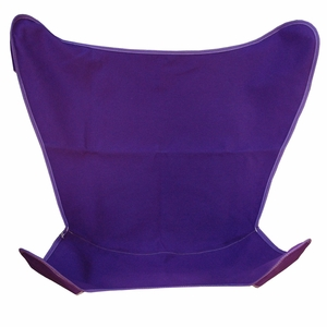 Pretty Purple Replacement Cover for Butterfly Chair by Alogma