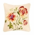 Priscilla Red Yellow Floral Cotton Quilt Luxury Queen  Bedding Ensembles Brand C&F