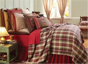 Queen Bedding - Tacoma Style Luxury Quilt For Your Bed Brand VHC