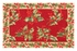 Queen Size Holly Red Holiday Quilt Cotton 90 Inch X 92 Inch Brand C&F