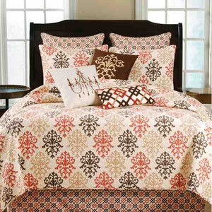 Queen Size Quilt Shabby Chic Brown Handmade 90 Inch X 92 Inch Brand C&F