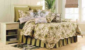 Quilt King Size, Barbados Sand, 108 Inch X 92 Inch, Cotton Brand C&F