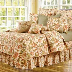 Quilt Queen Size, Amelia 90 Inch X 92 Inch, Handmade Cotton Brand C&F