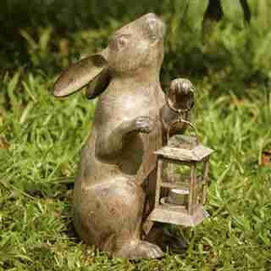 Rabbit Lantern Latest Arrival In Decorative Garden Light Collection Brand SPI-HOME