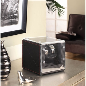 Racing 2 Watch Winder with Sturdy Construction in Carbon Fiber Brand Nathan