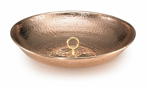 Rain Chain Basin - Polished Copper by Good Directions