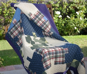 Ranger Throw Quilt Enchantingly Pleasant Creation Brand Greenland