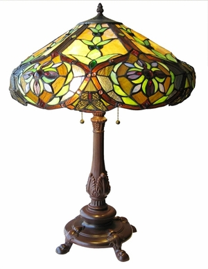 Rare and Exquisite Victorian Table Lamp by Chloe Lighting