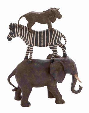 Reims African Animal Stack Spectacular Bewitching Model Brand Benzara