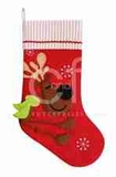 Reindeer Whimsy Stocking Pair, 8.5 Inch  X 20 Inch Brand C&F
