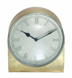 Remember Metal Retro Table Clock by Woodland Import