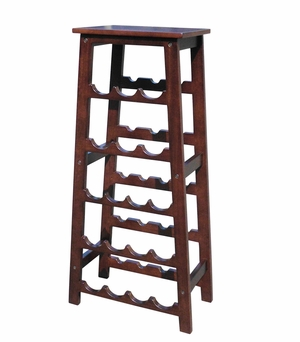Remscheid Wine Rack, Exquisitely Etched Sturdy Utility Stand by D-Art