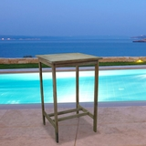 Renaissance Outdoor Hardwood Bar Table by Vifah