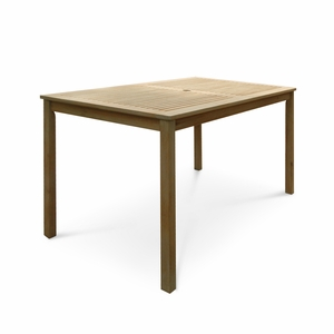 Renaissance Outdoor Hardwood Rectangular Table by Vifah