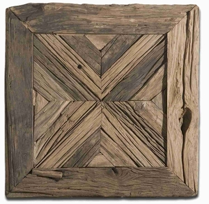 Rennick Reclaimed Wood Wall Art With Fine And Broad Strokes Brand Uttermost