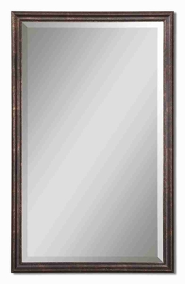 Renzo Wall Mirror with Distressed Bronze and Gold Finish Brand Uttermost