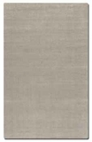 Rhine Cloud White 5' Rug Detailed in Linear Loop and Cut Pile Brand Uttermost
